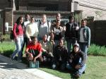 Thabo Maake who is now working at SAIAB on his PhD (second from the rht - standing) and Mpho Ramoejane (second from the left - standing) on his MSc started their association with SAIAB at the 2007 Winter School