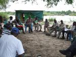 Impalila Island community meeting