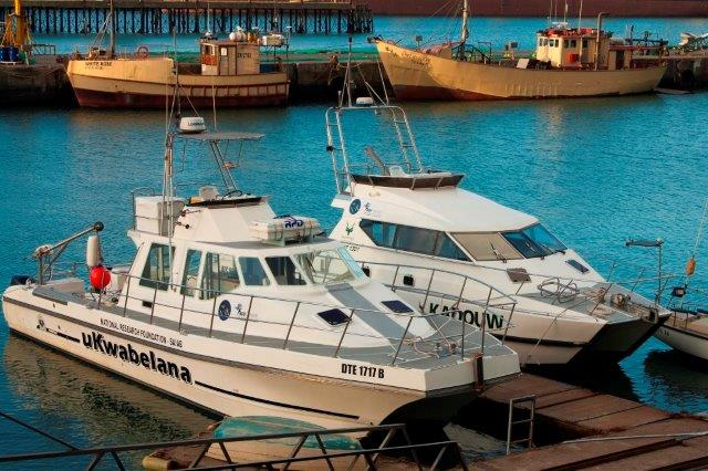 ACEP's two research vessels